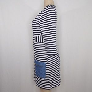Anthropologie Dresses - Anthropologie Tabitha striped Marin Dress, Sz 8